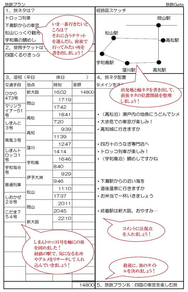 MY旅鉄プランニング | 鉄道旅行の準備 | tabitetu-gate